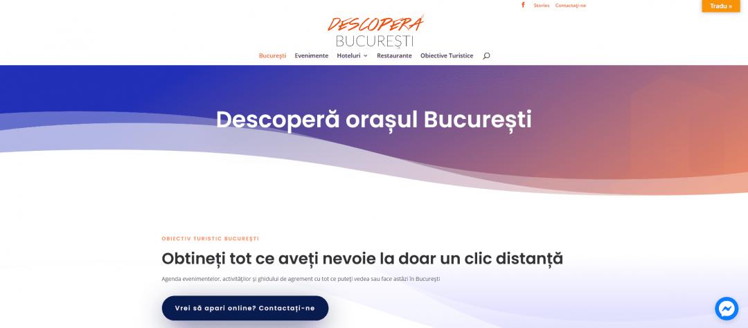 Descoperă orașul București